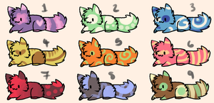 Kitten Adopts 7: 5 points by RubyAdopts