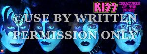KISS Creatures Of the Night Facebook Cover by medek1