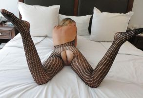 fishnet rearview XXX by LOOKANDFIND