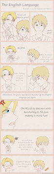 Hetalia: The English Language by KitKatKo
