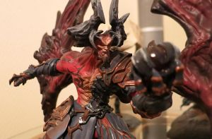 Fan Photo of the Day!  Darksiders Samael Statue by StateOfTheArt-toys