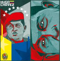 Hugo Chavez by Bokula