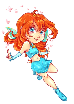 Bloom chibi by Miss-Alex-Aphey
