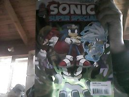 Sonic Super Special Issue 4 by MagicalCustardSquire