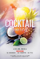 Cocktail Party Flyer by styleWish