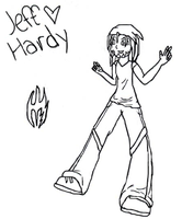 Jeff Hardy Collab :Outline: by R-D-V-fan