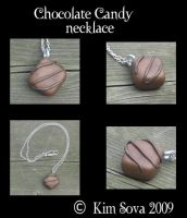 Chocolate Candy Necklace by teiris