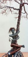 Tree of Life-detail- The Tree Hugger by SamanthaJordaan