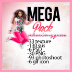 MEGA PACK by selenaismyqueen