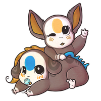 GIFT: Baby Splash And Fisk! by c-Chimera