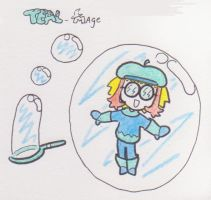Mages-Teal by Daemon107