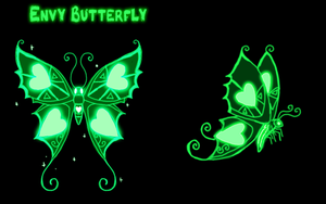 Envy Butterfly Ref by VengefulSpirits