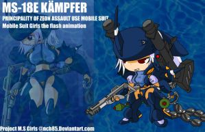 Kampfer girl character sprite by NCH85
