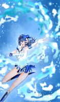 Sailor Mercury -Shine Agua Illusion by zelldinchit
