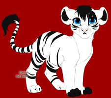 Lunar the tiger by Epe0411