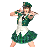 Hitomi Pop Idol Team-O outfit for XPS by wadamen