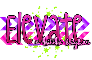 Big Time Rush Texto PNG Elevate by ValeeSchmidt