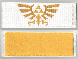 Hyrule crest bookmark by mew-trainer-rose