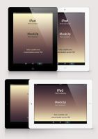 Free Psd iPad Retina Mockup Template by Pixeden