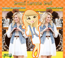 Demi Lovato Doll (Summer Concert 2013) by RoohEditions