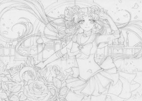 Sailor Moon Crystal (Line Art) by Princess--Ailish