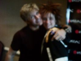 :blurry: Vic Mignogna and I by KaoriSkywalker