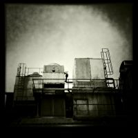 Industrial Shadows XII by HorstSchmier
