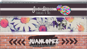 Banner Editables Para Youtube 2013 by JuaanLopez