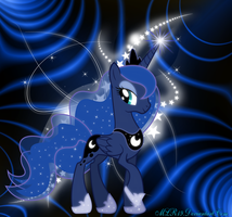 Princess Luna by FlutterDash75
