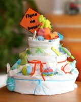 Nappy cake by Toefje-Kunst
