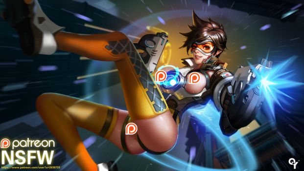 Tracer NSFW by Liang-Xing