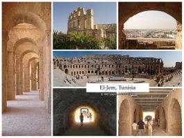 Postcard - El-Jem, Tunisia by jpgmn