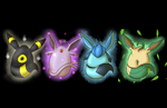 Eevee Eggs Wallpaper Gen 2 + 4 by DarthSuki