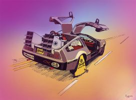 Delorean by Fedrick