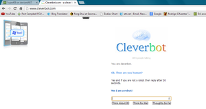 Cleverbot Owned by SuperKB