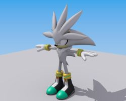 Silver the Hedgehog sth06 by Mikiel2171