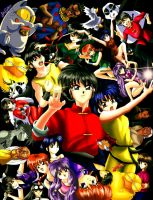 Ranma Collage by HitokiriSakura2012