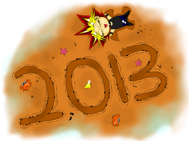 Happy 2013 by Yami-No-Spirit-luver