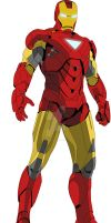 Iron Man 2-vector-cell shade by thevodkaboy