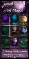 Land of Magic backgrounds by moonchild-ljilja
