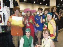 Naka-Kon 09-Digimon Group by Mushroomking1967