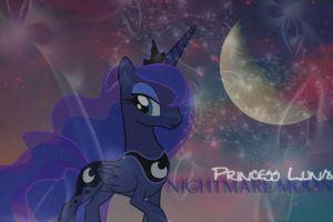 Princess Luna - Nightmare Moon by xXNightwingRobinXx