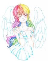 MLP: Sweet Rainbow Dash by Sky-Griffin