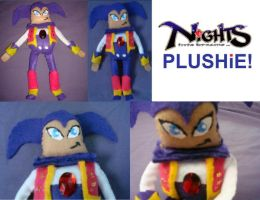 NiGHTS PLUSHiE finished by NiGHTSfanKevin