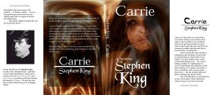 """Classwork Bookcover """"Carrie"""" by Avalonshroud"""