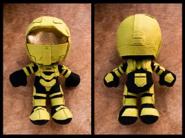 Master Chief Plush by ShaninjaPants