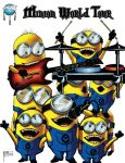 Minion World Tour by MJValle