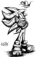 Shadow Sega Style by Mimy92Sonadow