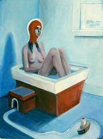 Cold Bathroom Judith by hyronomous