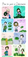 How to pick a Watermelon by palnk